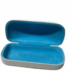 Warby Parker white sunglasses case